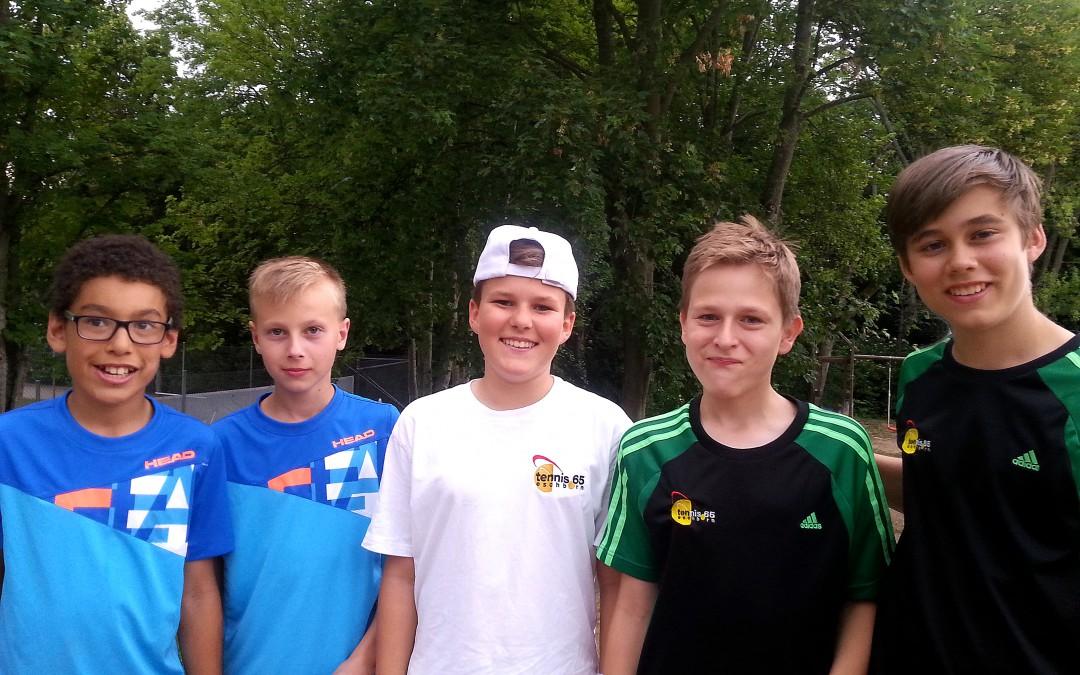 tennis 65 Jugend punktet erneut